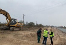 строителството на магистралата