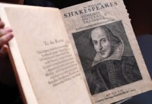 Първо фолио Шекспир