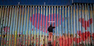 стена на границата между САЩ и Мексико