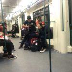 метро коронавирус маски