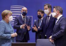 Ангела Меркел, Шарл Мишел, Джузепе Конте, Александер де Кро, Хавиер Бетел