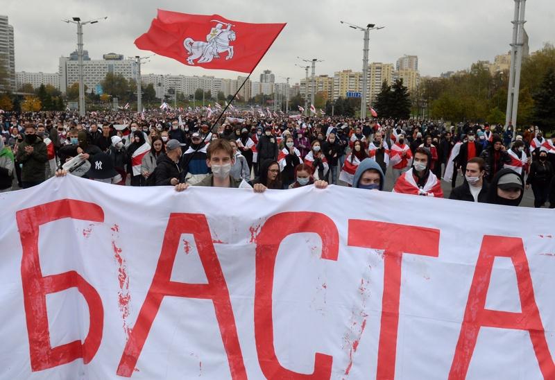 протест в Беларус