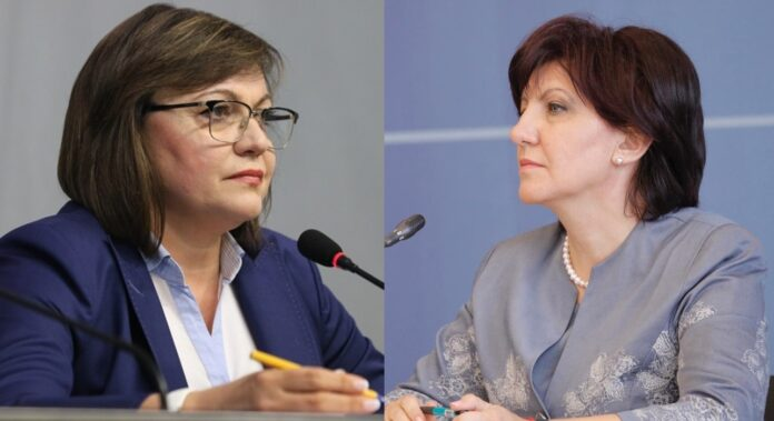 Корнелия Нинова, Цвета Караянчева