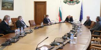 среща при министър-председателя на НОЩ