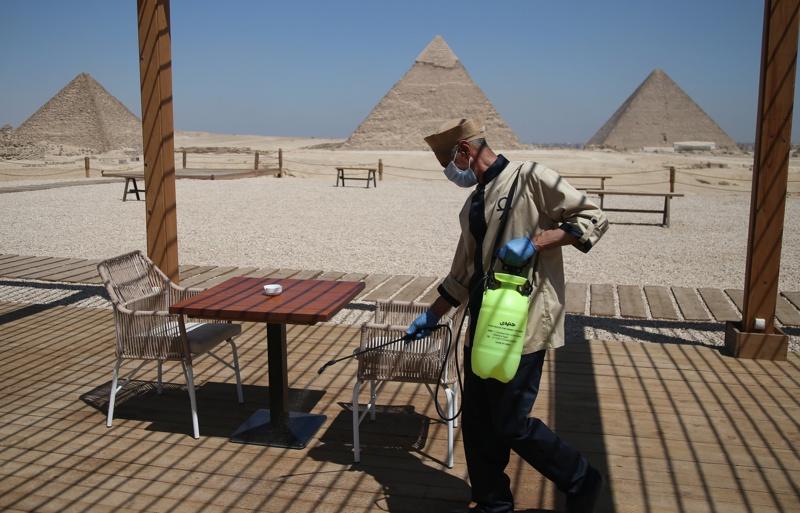 Египет коронавирус