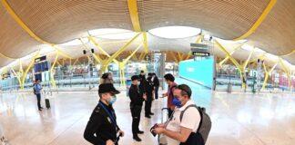 Испания летище коронавирус