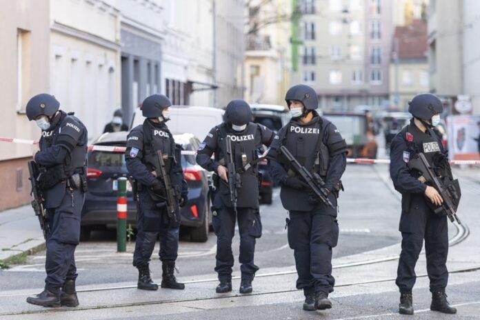 Австрия полиция