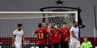 Испания Германия