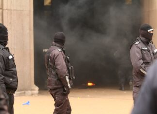 протест димка