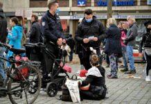 протест в Германия