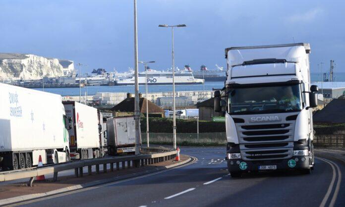 камиони Великобритания