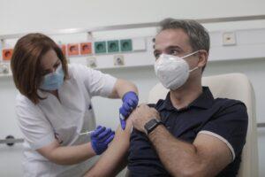 ваксина Кириакос Мицотакис