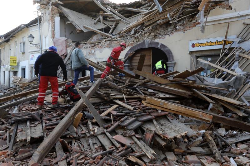 Хърватия земетресение