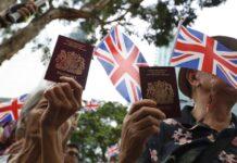 Хонконг паспорти Великобритания