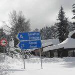 Белмекен сняг