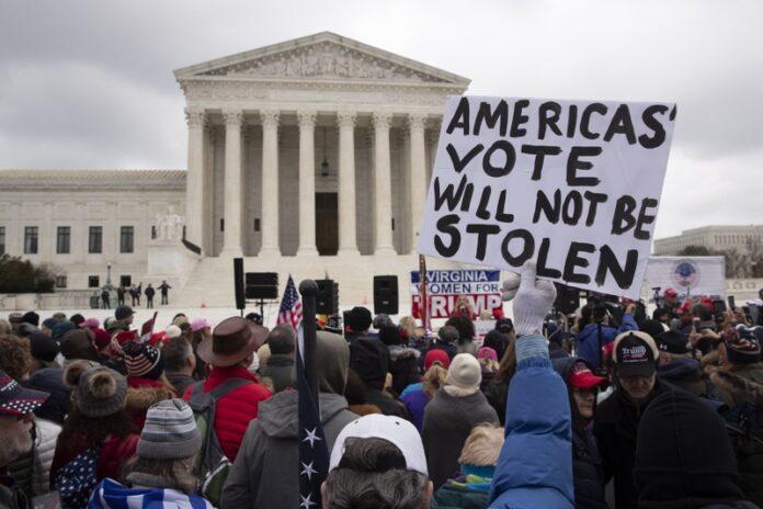 протести Вашингтон Тръмп