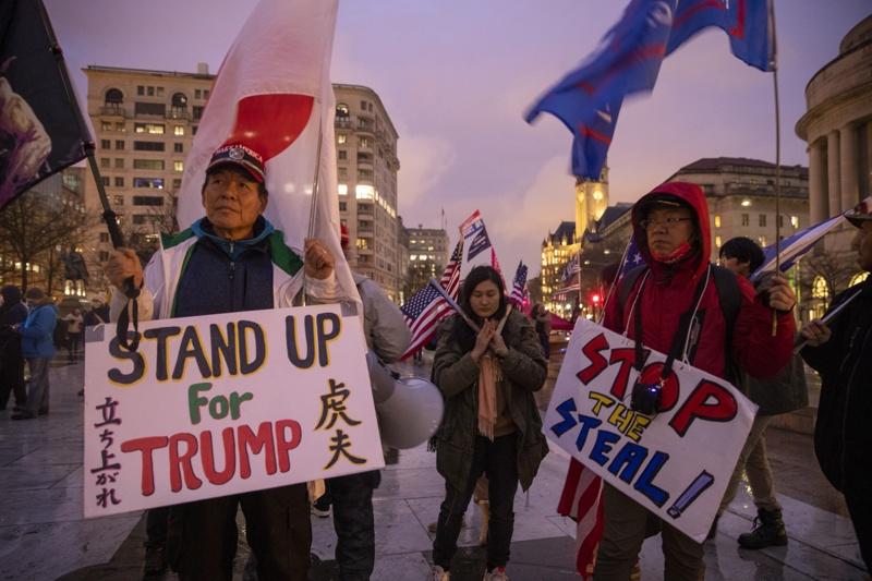 Протести Тръмп Вашингтон