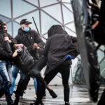 нидерлания протести коронавирус