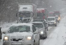 сняг, почистване, пътна обстановка