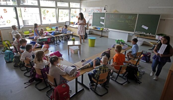деца по време на пандемията в Германия