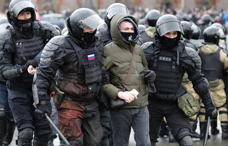 арести протести Навални