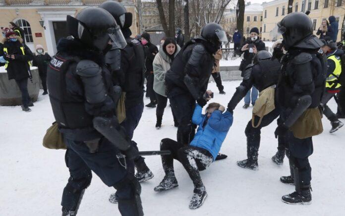 арести протест Навални
