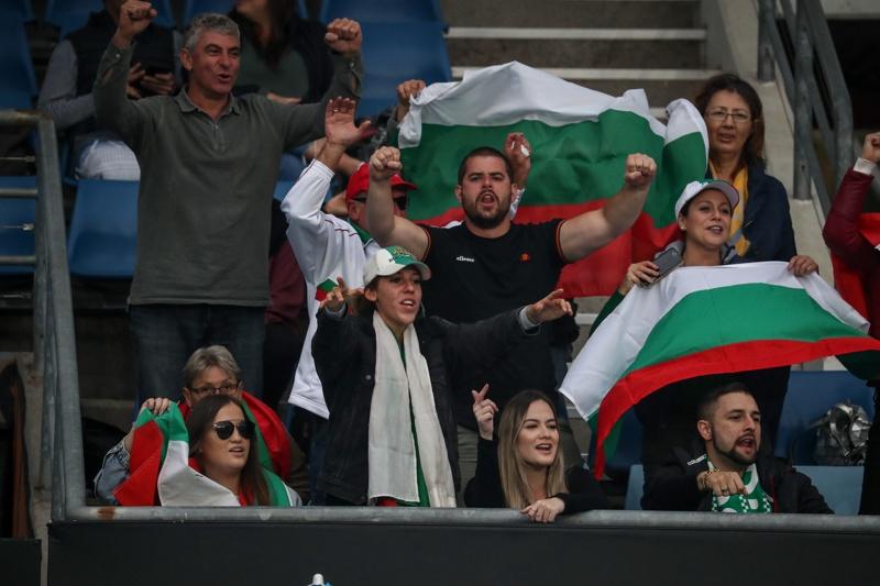 Българи агитка тенис