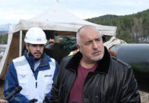 Борисов при инспекция на интерконекторът с Гърция