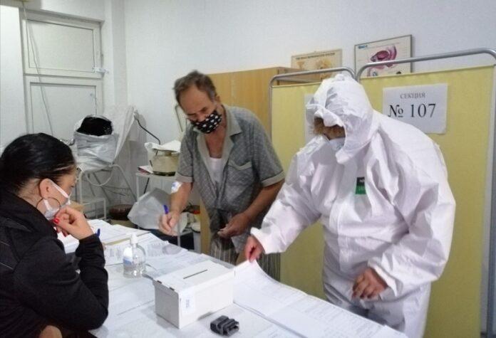 Пациенти с ковид гласуват