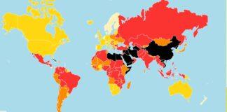 Репортери без граници представи класацията си