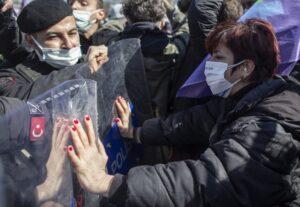 Протест на турските жени