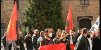 ВМРО излезе на протест