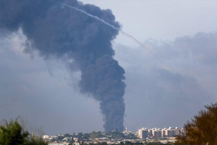 Газа, атака Хамас Израел