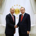 Турският президент Реджеп Тайип Ердоган и Джо Байдън (тогава вицепрезидент на САЩ) на среща в Анкара през 2016г.