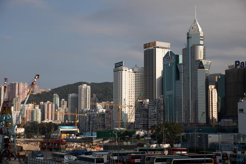 Жилищни и търговски сгради в Хонг Конг, Китай