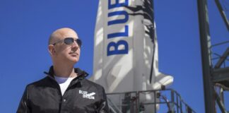 Основателят на Blue Origin Джеф Безос