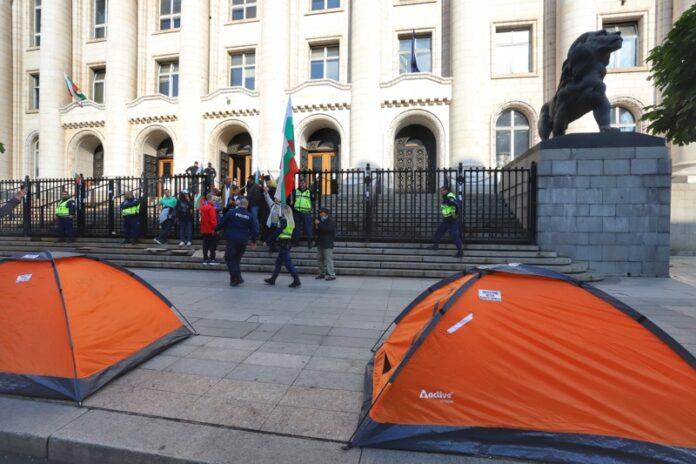 Протест съдебна палата