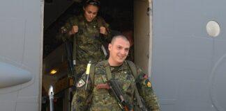 """42-ия военен контингент се завърнаха на 23 юни вечерта в нашата страна след участие в мисията на НАТО в Афганистан """"Решителна подкрепа""""."""