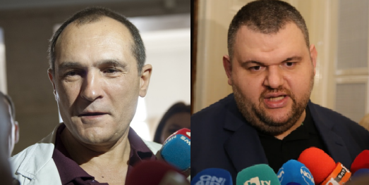 Васил Божков и Делян Пеевски