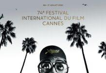 Официален плакат за 74-ия филмов фестивал в Кан