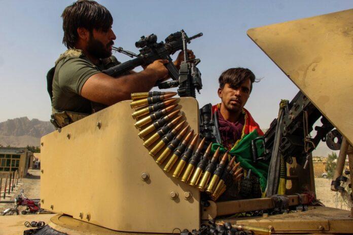 Афганистанските сили за сигурност, талибани