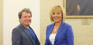 Мая Манолова и Тошко Йорданов