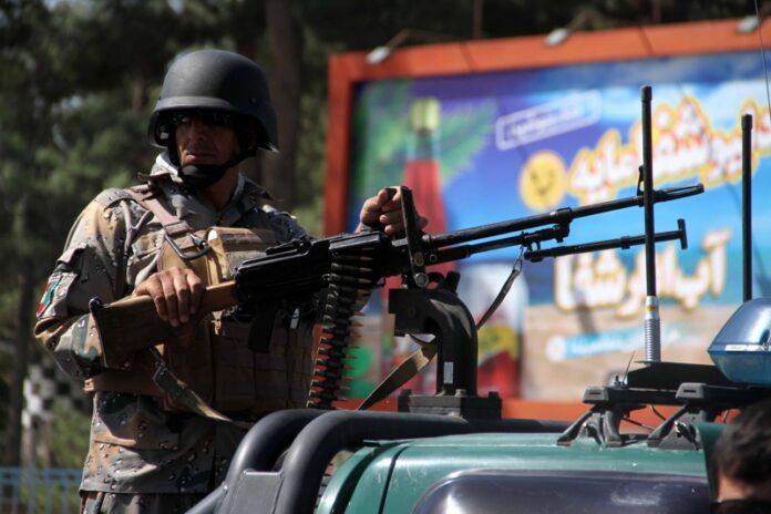 Афганистан, борба с талибаните