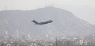 Кабул, Афганистан, самолет