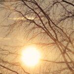 слънце, време, горещо