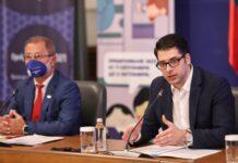 """Вицепремиерът Атанас Пеканов и председателят на НСИ Сергей Цветарски откриха официално """"Преброяване 2021"""""""