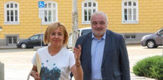 Мая Манолова и Арман Бабикян