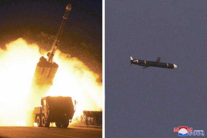 Северна Корея ракети