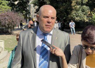 На снимката: Иван Гешев - гл.прокурор на България