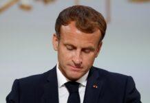 На снимката: френският президент Еманюел Макрон
